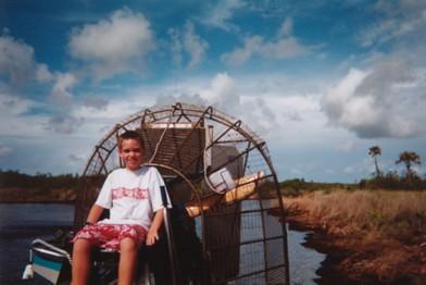"""Airboat, Everglades"""